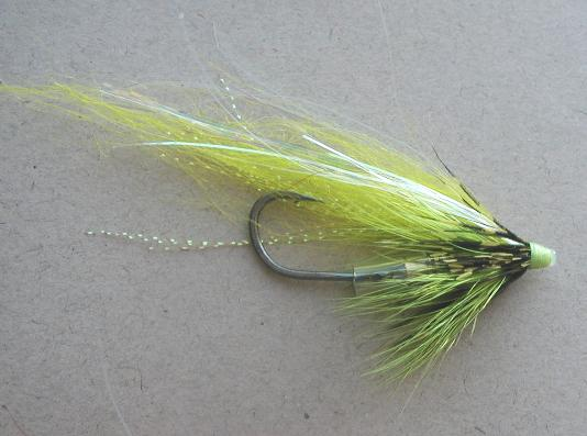 Chartreuse Guinea Wing